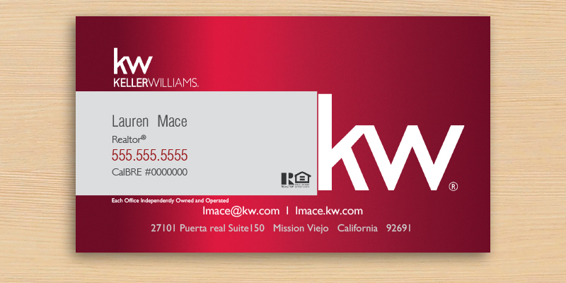 JustClickKW - Keller Williams - Business Card - Keller-Williams-KW-RED-GRAY-0015_Detail