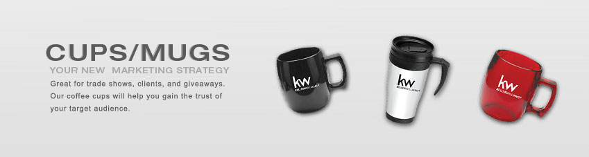 JustClickKW - Keller Williams - Cups and Mugs Banner Template Section