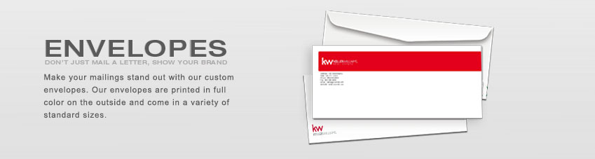JustClickKW - Keller Williams - Envelopes Section Banner