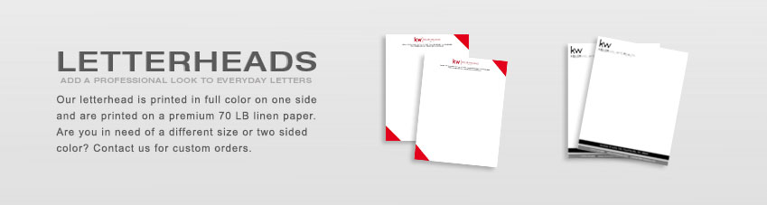 JustClickKW - Keller Williams - Letterheads Section Banner