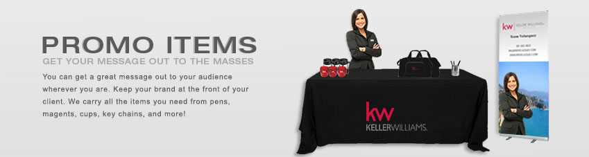 JustClickKW - Keller Williams - Promo Items Section Banner