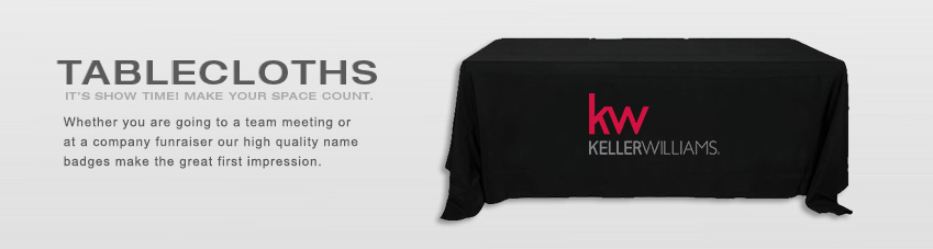 JustClickKW - Keller Williams - Tablecloths Banner Section
