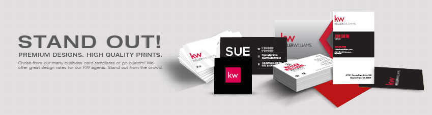 JustClickKW - Keller Williams - Business Card - Stand Out