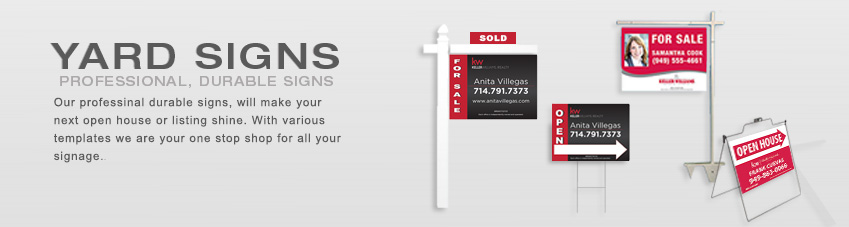 JustClickKW - Keller Williams - Yard Signs Template Section Banner