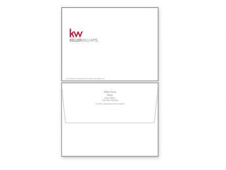 JustClickKW - Keller Williams - Envelope template - kw1-e
