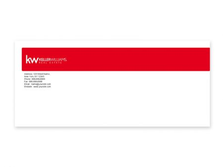 JustClickKW - Keller Williams - Envelope template - kw2-e