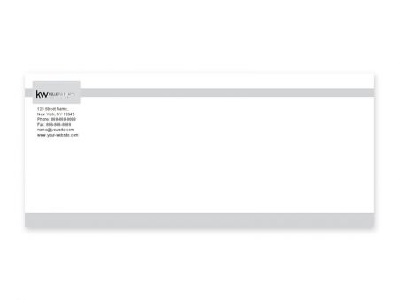 JustClickKW - Keller Williams - Envelope template - kw3-e