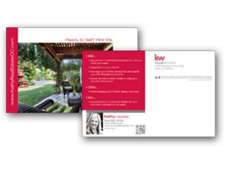 JustClickKW - Keller Williams - 8x5 Postcard template - kw3-pc-8x5