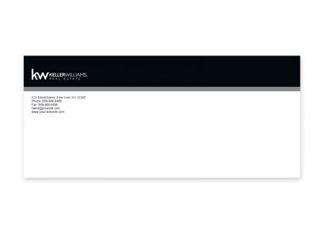 JustClickKW - Keller Williams - Envelope template - kw4-e