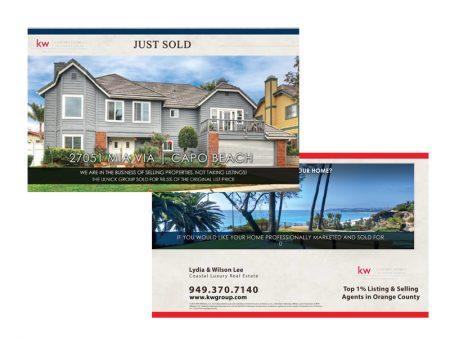 JustClickKW - Keller Williams - Just Sold Postcard template - kw4-pc