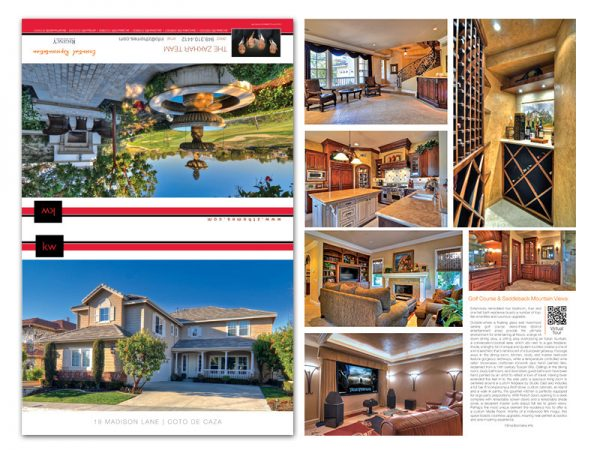 JustClickKW - Keller Williams - 11x17 Fold Brochure Template - kw5-bs