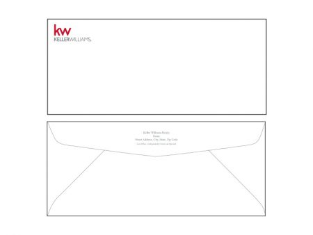 JustClickKW - Keller Williams - Envelope template - kw5-e