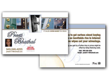 JustClickKW - Keller Williams - 8x5 Postcard template - kw5-pc-8x5