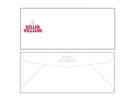JustClickKW - Keller Williams - Envelope template - kw6-e