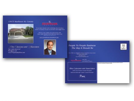 JustClickKW - Keller Williams - 8x5 Postcard template - kw6-pc-8x5