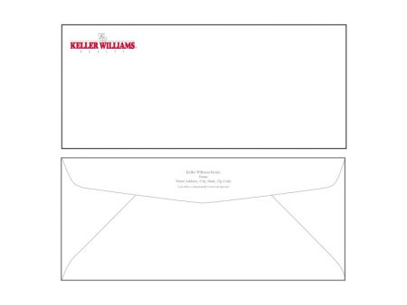 JustClickKW - Keller Williams - Envelope template - kw7-e
